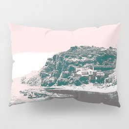 village by the sea. Pillow Sham