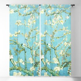 Almond Blossom (1890) by Vincent van Gogh Blackout Curtain