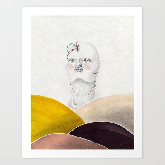 Flux Art Print