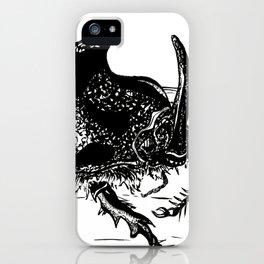 Rhinoceros Beetle  iPhone Case