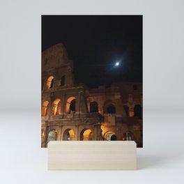 Rome Colosseum Mini Art Print