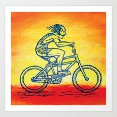 Bicycle 4 Art Print