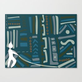 Oby rupestre Canvas Print