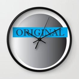 Pluto's Original (Blue) Wall Clock