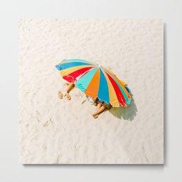 California Colors - Colorful Umbrella - v20 Metal Print