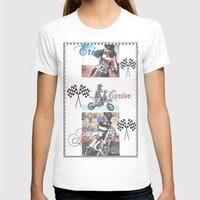 moto T-shirts featuring Moto Kids by Connie Campbell