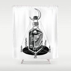 Devil's Moonshine Shower Curtain