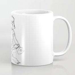 A Three Hand Man with a coffee Coffee Mug