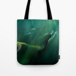 Verdant Deeps Tote Bag
