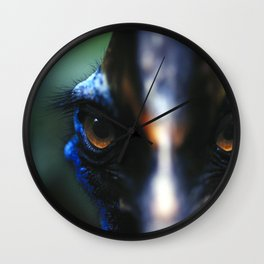 Cassowary Bird Wall Clock