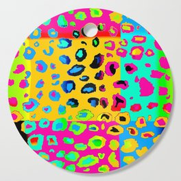 colorpop leopard Cutting Board