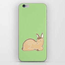 White-Tailed Deer Spring Green iPhone Skin