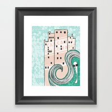 City Chic Framed Art Print