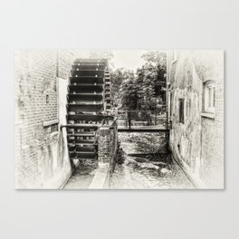 The Old Watermill Canvas Print