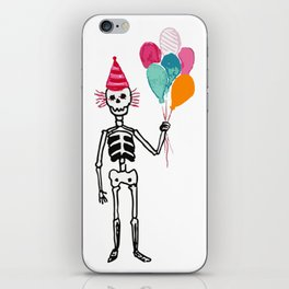Happy muertos iPhone Skin
