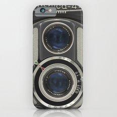 Vintage Camera (Yashica 44) Slim Case iPhone 6s
