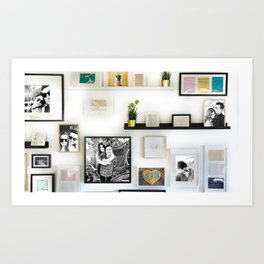 Picture Frames Art Print