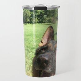 Happy Dog! Travel Mug