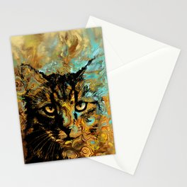 Cat 617 Stationery Cards