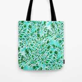 FRONDLY FRONDS Green Leaves Tote Bag