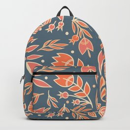 Loquacious Floral Backpack