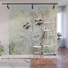 Shifting  Wall Mural
