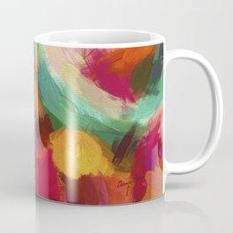 Christmas Light Abstract Coffee Mug