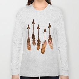 405 Rustic Boho Arrows Long Sleeve T-shirt