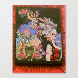 day of the dead returning Canvas Print