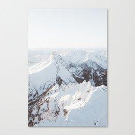 Snowy Mountains in Washington | Pt. 2 Canvas Print
