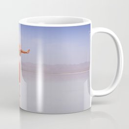 Ballerina Dancing On The Beach Coffee Mug