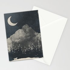 Winter Finds the Wolf... Stationery Cards