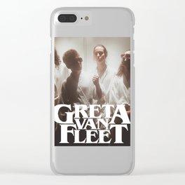 GRETA VAN FLEET #4 Clear iPhone Case