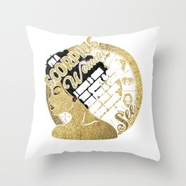 I'm A Scorpius Woman I Have 3 Side The Quiet & Sweet The Fun & Crazy And The Side You Never Want To See Throw Pillow
