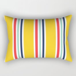Tangerine Summer Rectangular Pillow