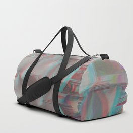 Lotus Glitch Duffle Bag