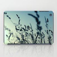 grass iPad Cases featuring grass by Ingrid Beddoes