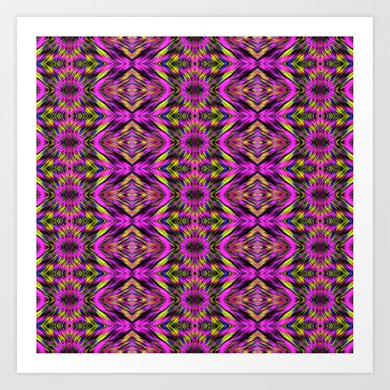 My Impression Pattern  Collection NO.5 Art Print