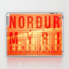 Nordurmyri Orange Laptop & iPad Skin