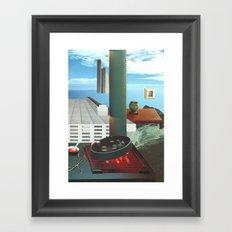 The City As Home 3 Framed Art Print