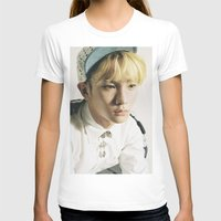 shinee T-shirts featuring Key - SHINee by Felicia