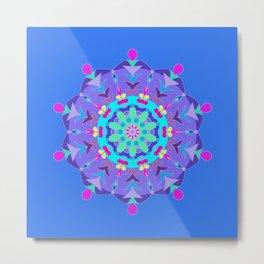 Inner Workings Mandala Metal Print