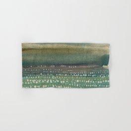 Landscape Dots- Blue Hand & Bath Towel