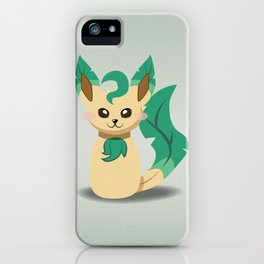 Evolution Bobbles - Leafeon iPhone Case