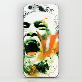 Conor McGregor UFC 194 collectable limited edition print iPhone Skin
