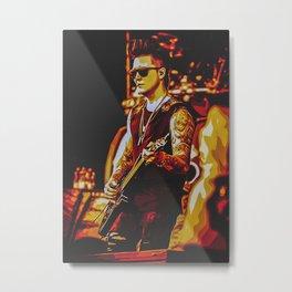 Synyster Gates Metal Print