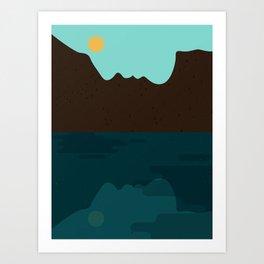 Self-reflection Art Print