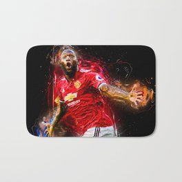 football player Bath Mat