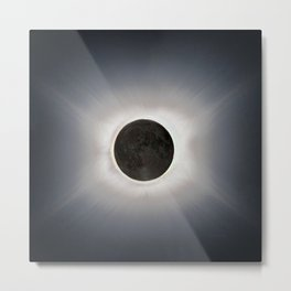 Total Eclipse by  OLena Art Metal Print