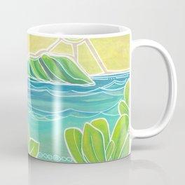 Naupakas in Paradise Surf Art by Lauren Tannehill Coffee Mug